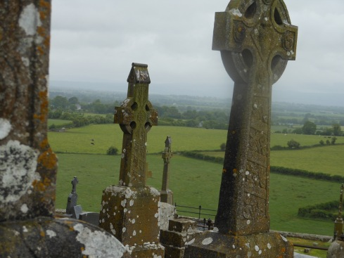 Haunting scene from Cashel Rock, Ireland.
