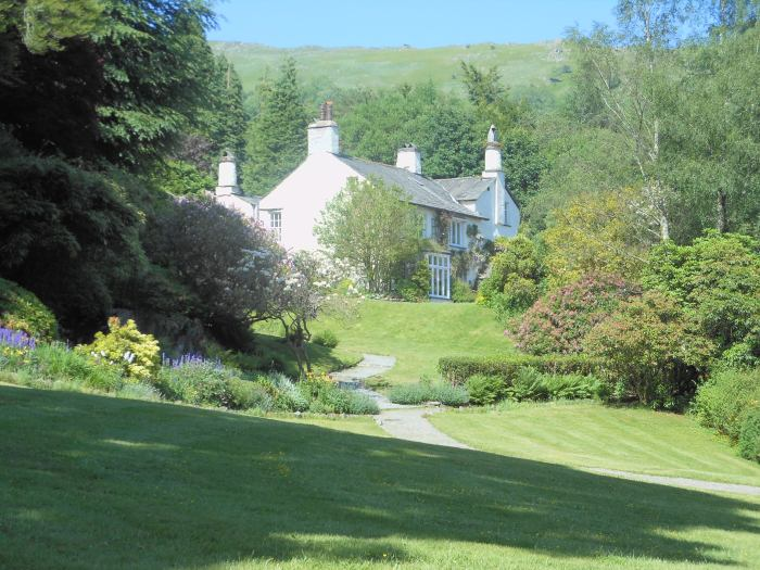 Wouldn't you be a Romantic Poet if you lived here?  At Rydal Mount.